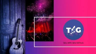 Aplicativo TMG lança segunda (17), novo layout e plataforma com artistas musicais