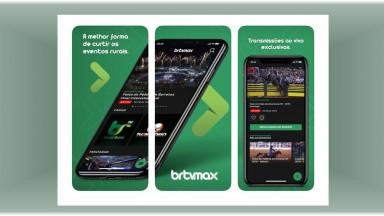 Lançado App BRTVMAX que reúne acervo de 32 anos da TV Rodeio