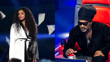 IZA substitui Carlinhos Brown no The Voice Brasil 2019