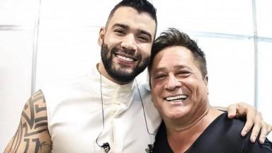 Gusttavo Lima e Leonardo estarão juntos em Live