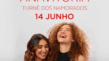 ANAVITÓRIA se apresenta em São Paulo com turnê especial Dia dos Namorados