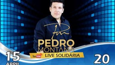 Sertanejo Pedro Montana faz Live Solidária nesta quarta-feira, dia 15