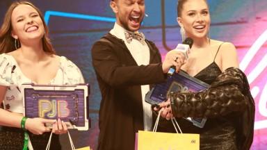 Anitta e Luan Santana vencem categoria de melhor cantora e cantor no Prêmio Jovem Brasileiro