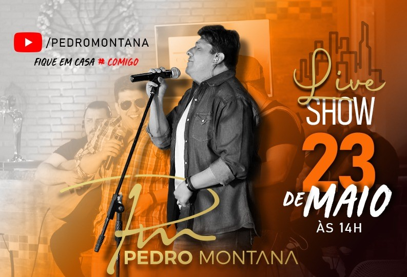 Pedro Montana realiza terceira Live Sertaneja neste sábado