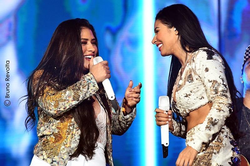 Simone e Simaria tomam posse como Embaixadoras da Festa de Barretos em evento dia 24 de julho, em São Paulo