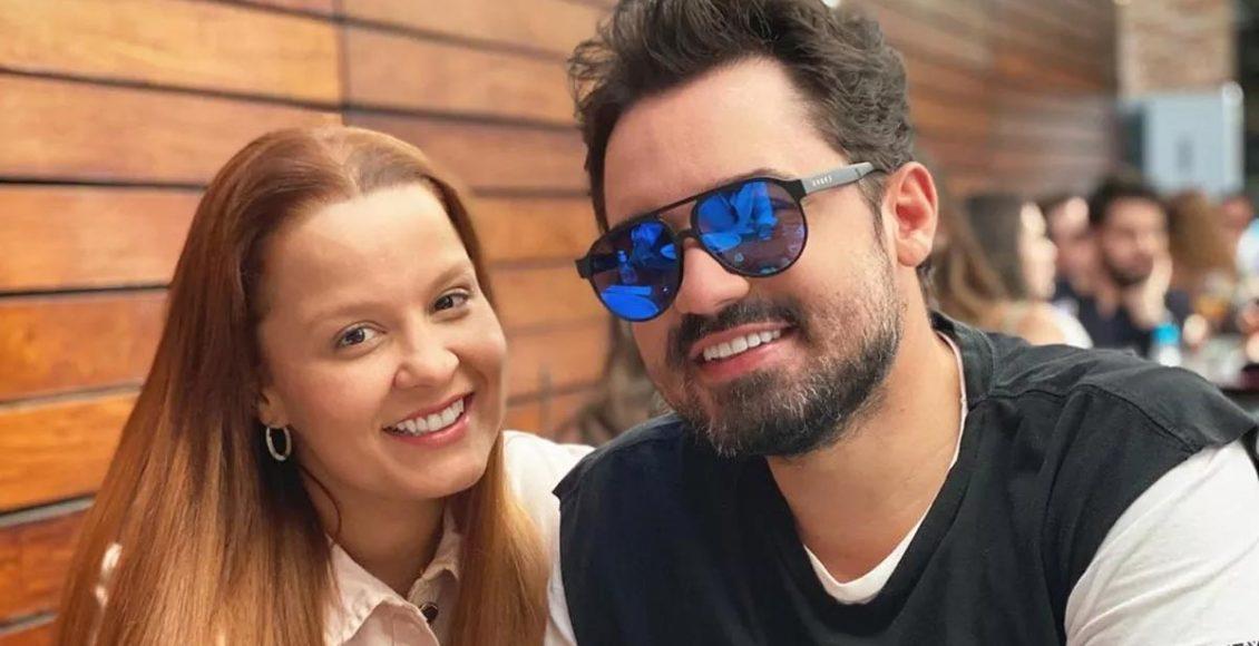 Maiara e Fernando Zor foram flagrados juntos