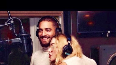 Madonna anuncia música com Maluma