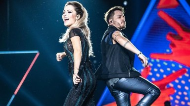 Último show na TV de Sandy & Junior será no Faustão