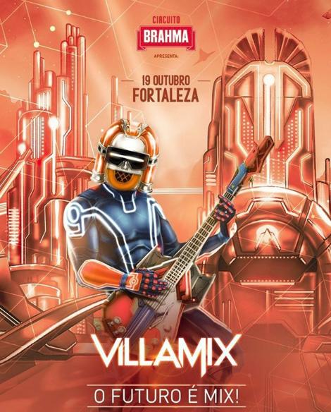VillaMix Festival desembarca em Fortaleza dia 19 de outubro