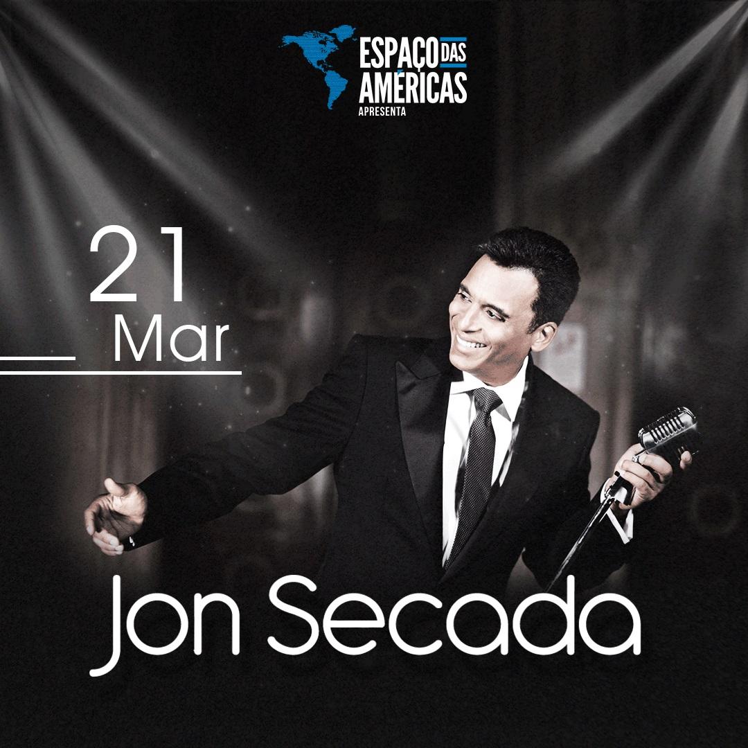 Jon Secada chega ao Espaço das Américas